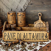 """Для дома и интерьера ручной работы. Ярмарка Мастеров - ручная работа Набор для кухни """" Легенда Апулии"""". Handmade."""