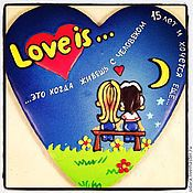 Сувениры и подарки ручной работы. Ярмарка Мастеров - ручная работа Сердце Love is. Handmade.