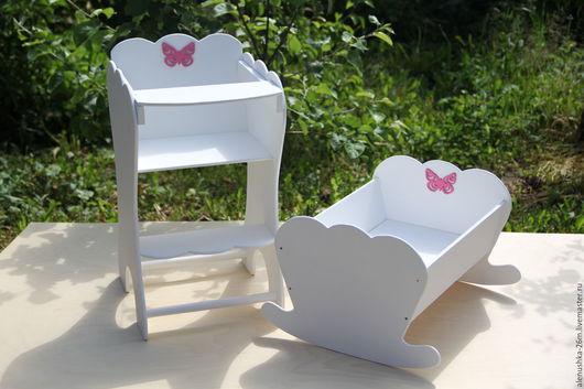 Аксессуары для колясок ручной работы. Ярмарка Мастеров - ручная работа. Купить мебель для кукол в наличии и на заказ. Handmade. Белый