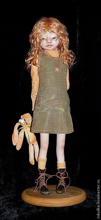 Коллекционные куклы ручной работы. Ярмарка Мастеров - ручная работа. Купить Солнечный Зайчик. Handmade. Подарок, зайчик, подарок для женщины