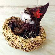 Куклы и игрушки handmade. Livemaster - original item hedgehog Problems. Fulled (felted) wool. Handmade.