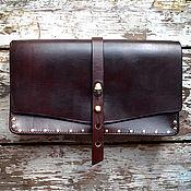 Сумки и аксессуары handmade. Livemaster - original item Leather clutch Caribbean Tale 2. Handmade.