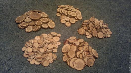 Кухня ручной работы. Ярмарка Мастеров - ручная работа. Купить Спилы разных пород деревьев.. Handmade. Спил, для дома, берёза