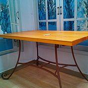 Для дома и интерьера ручной работы. Ярмарка Мастеров - ручная работа Стол садовый Беседа. Handmade.