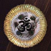 Посуда ручной работы. Ярмарка Мастеров - ручная работа Тарелка декоративная  Om. Handmade.