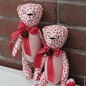 Куклы и игрушки ручной работы. Ярмарка Мастеров - ручная работа Рождественский мишка тильда - мягкая игрушка. Handmade.