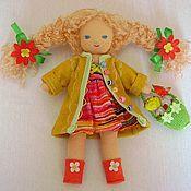 """Куклы и игрушки ручной работы. Ярмарка Мастеров - ручная работа Кукла """"Веснуша"""" 18 см.. Handmade."""
