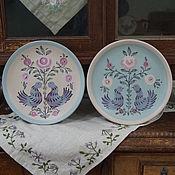 Для дома и интерьера handmade. Livemaster - original item Decorative plates with paintings. Handmade.