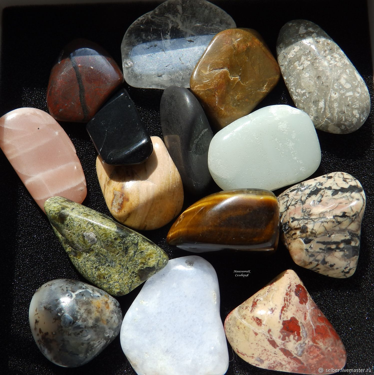Set of stones for divination Ludomatica large, Fortune telling stones, Gatchina,  Фото №1