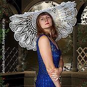Свадебный салон ручной работы. Ярмарка Мастеров - ручная работа Ажурная шляпа Снежинка. Handmade.