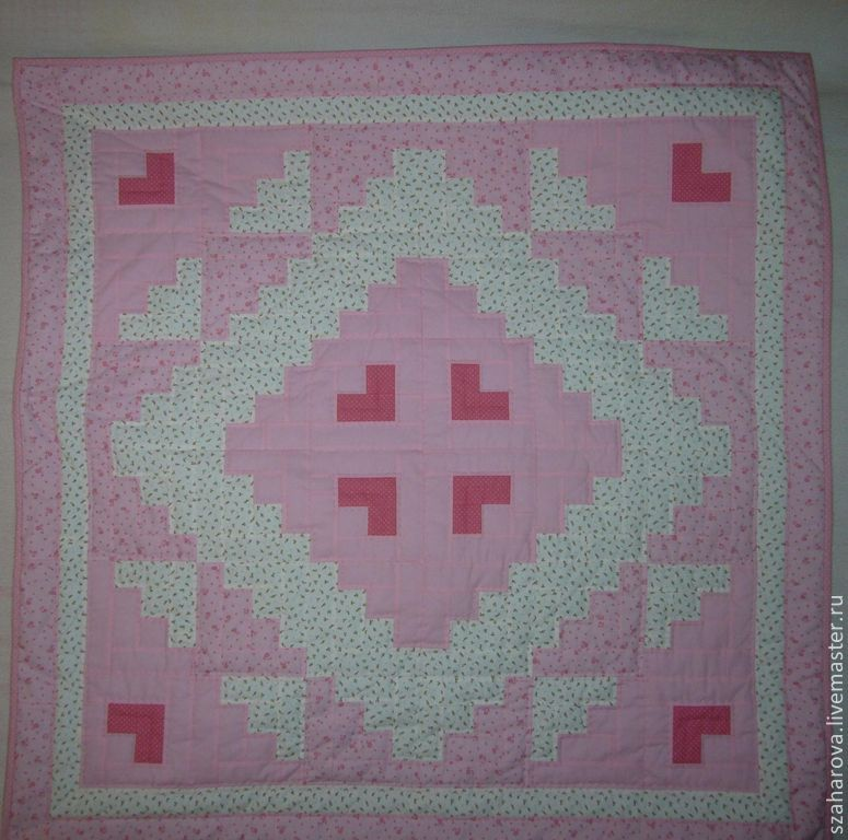 Quilt for girl 'Princess', hand stitch, Blanket, Novosibirsk,  Фото №1