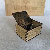 Музыкальные инструменты handmade. Livemaster - original item Music Box Princess Mononoke. Handmade.