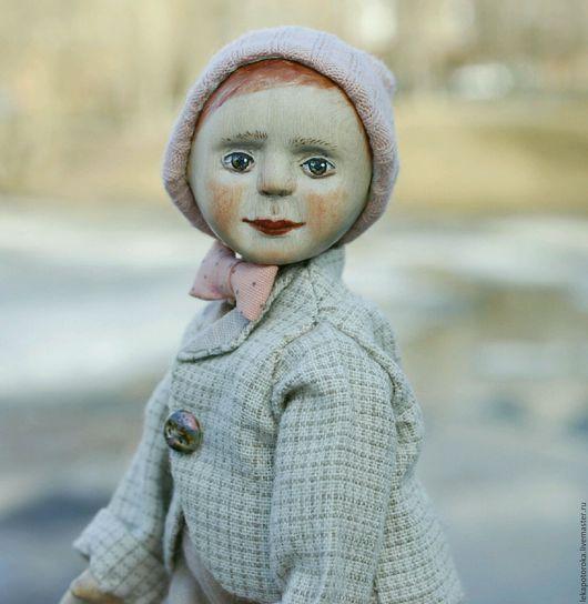Коллекционные куклы ручной работы. Ярмарка Мастеров - ручная работа. Купить Кукла из дерева - шарнирный деревянный мальчик Фома. Handmade.