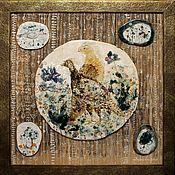 Картины и панно handmade. Livemaster - original item Panels: