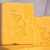 """Косметика ручной работы. Ярмарка Мастеров - ручная работа """"Жираф"""" Натуральное детское мыло. Handmade."""