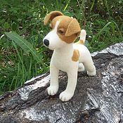 Куклы и игрушки ручной работы. Ярмарка Мастеров - ручная работа Валяная игрушка Собака Рэкс. Handmade.