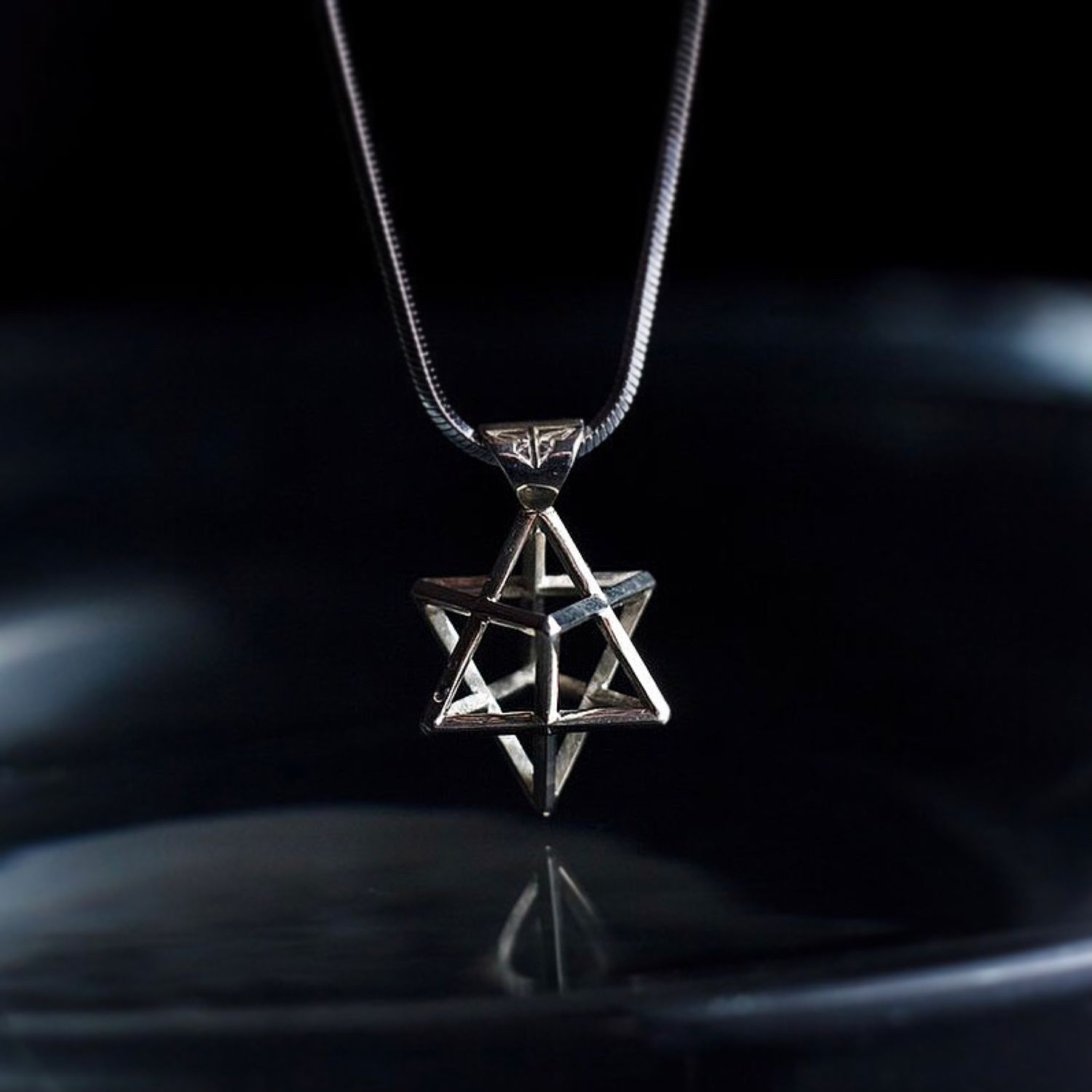 Merkabah Pendant | Star of David | 925 Sterling silver, Pendant, Moscow,  Фото №1
