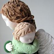 """Подарки к праздникам ручной работы. Ярмарка Мастеров - ручная работа Ангел """"Мама в зеленом 2"""". Handmade."""