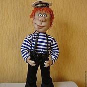 """Куклы и игрушки ручной работы. Ярмарка Мастеров - ручная работа Кукла """"Моряк"""". Handmade."""