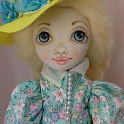 Куклы и игрушки ручной работы. Ярмарка Мастеров - ручная работа Текстильная кукла Наташа. Handmade.