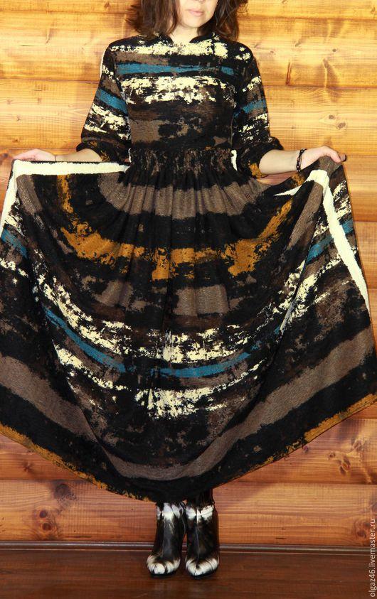 """Костюмы ручной работы. Ярмарка Мастеров - ручная работа. Купить Костюм: юбка в пол, блуза """"Снегопад"""". Handmade. Комбинированный"""
