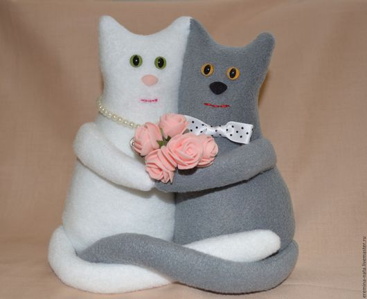 Игрушки животные, ручной работы. Ярмарка Мастеров - ручная работа. Купить Коты-неразлучники. Handmade. Коты ручной работы