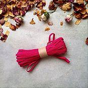 Резинки ручной работы. Ярмарка Мастеров - ручная работа Винтажная резинка розовая. Handmade.