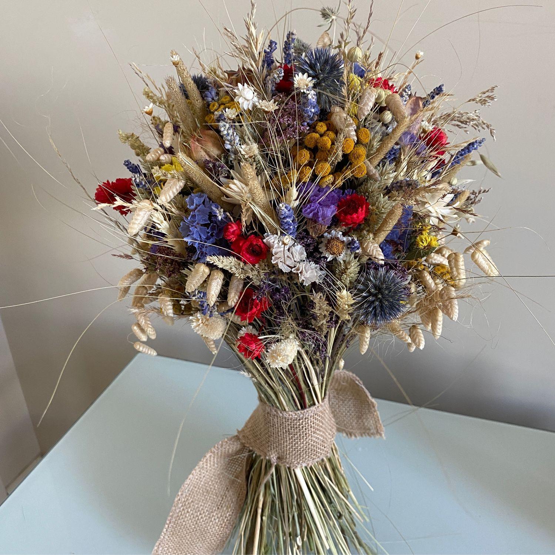 Большой  букет из сухоцветов « Поле», Букеты, Москва,  Фото №1