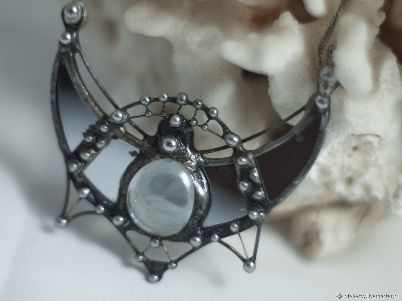 Seth: Moonlight Armor Earrings (P-037-E-007-01), Jewelry Sets, St. Petersburg,  Фото №1