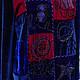 """Кофты и свитера ручной работы. Ярмарка Мастеров - ручная работа. Купить Бархатная туника """"Глубокое синее море"""". Handmade."""