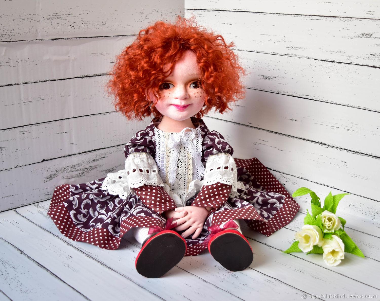 Текстильная кукла Алиса, Куклы и пупсы, Москва,  Фото №1