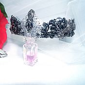 Украшения handmade. Livemaster - original item Crown Black Swan. Handmade.