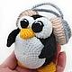 Обучающие материалы ручной работы. 5 в 1 МК Пингвины - вязаная игрушка крючком мастер-класс, описание. Вязаные игрушки от Маши Погореловой. Ярмарка Мастеров.