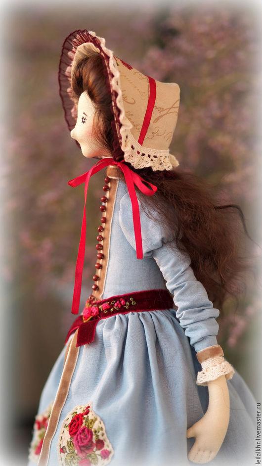 Куклы Тильды ручной работы. Ярмарка Мастеров - ручная работа. Купить Элиза. Handmade. Комбинированный, подарок девушке, корейский хлопок
