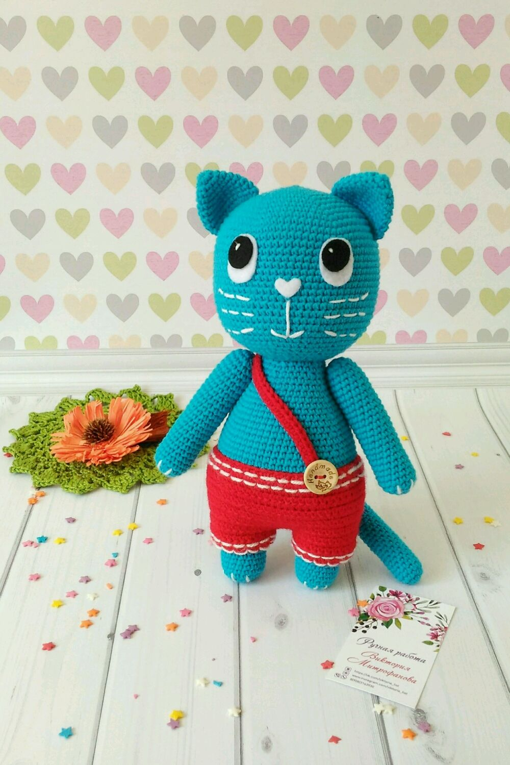 The blue cat from advertising Efferalgan, Stuffed Toys, Omsk,  Фото №1