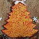 панно-подвеска декупаж, панно декупаж, новогоднее панно, елочка панно-подвеска, елочка украшение интерьера, елочка подарок коллегам, украшение на елку, новогодний сувенир елочка, панно новогоднее, под