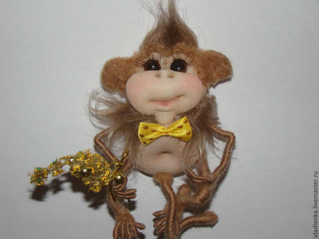 Мастер класс по изготовлению обезьяны