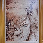 """Картины и панно ручной работы. Ярмарка Мастеров - ручная работа Картина """"В единстве"""". Handmade."""