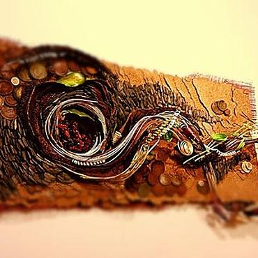 Дизайн и реклама ручной работы. Ярмарка Мастеров - ручная работа Интерьерное оформление 2 стен флористика  Млечный путь... Handmade.