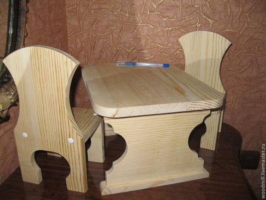 Кукольный дом ручной работы. Ярмарка Мастеров - ручная работа. Купить Набор мебели для кукол № 3.. Handmade. Бежевый