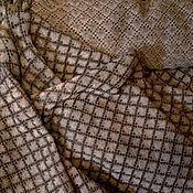 Материалы для творчества handmade. Livemaster - original item fabric of 100% linen yarn