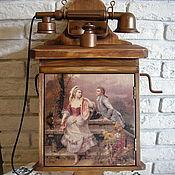 """Для дома и интерьера ручной работы. Ярмарка Мастеров - ручная работа ключница""""Позвони мне,позвони"""". Handmade."""