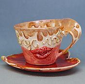 Посуда handmade. Livemaster - original item A couple of tea
