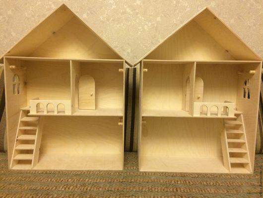 Кукольный дом ручной работы. Ярмарка Мастеров - ручная работа. Купить Кукольный домик. Handmade. Бежевый, дом