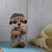Куклы и игрушки ручной работы. Ярмарка Мастеров - ручная работа Валяный ёжик Шунечка. Handmade.
