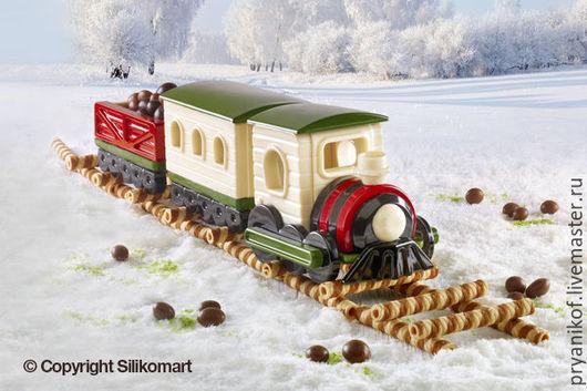 форма Silicomart поезд  magic train