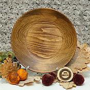 Посуда handmade. Livemaster - original item The flat plate of Fir 25#58. Handmade.