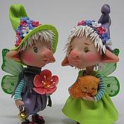 Куклы и пупсы ручной работы. Ярмарка Мастеров - ручная работа Лалайт и Робин. Handmade.