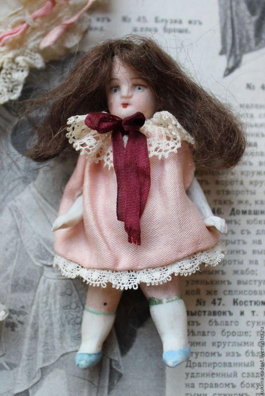 Винтажные куклы и игрушки. Ярмарка Мастеров - ручная работа. Купить Антикварная кукла-малютка . 8,5 см.. Handmade.