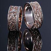 """Свадебный салон ручной работы. Ярмарка Мастеров - ручная работа Обручальное кольцо """"Изящное"""". Handmade."""